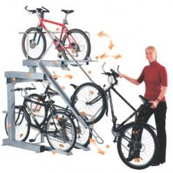 Doppelstockparker, Fahrradständer